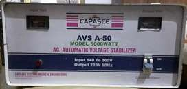 A.C Automatic Voltage Stablizer 5000 Watts for Sale
