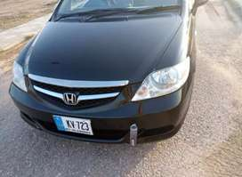 Honda City 2006 model 10/10 condition iqsat par hasil krain