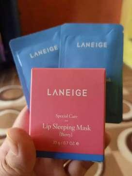Jual lip sleeping mask merk laneige
