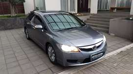 Honda Civic 1.8 AT Matic Manual Batman 2010 Abu ASTINA MOBIL