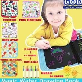 Reusable Drawing Book / Buku Menggambar / Mainan Edukasi Anak