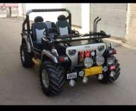 Jassal Jeep modified