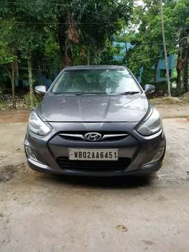 Hyundai Fluidic Verna 2012 Diesel Good Condition
