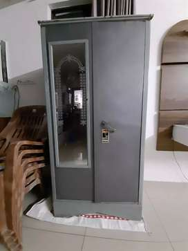 Very useful wardrobe with hidden safe