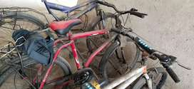 Good condition 6 speed bicycle for sale at 2500 only
