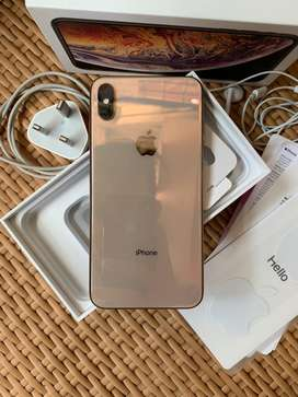 Iphone xs max 64gb gold mulus