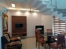 3 BHK fully furnished flat for rent at Thondayad Bypass