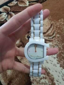 jam tangan aigner carolina watch original