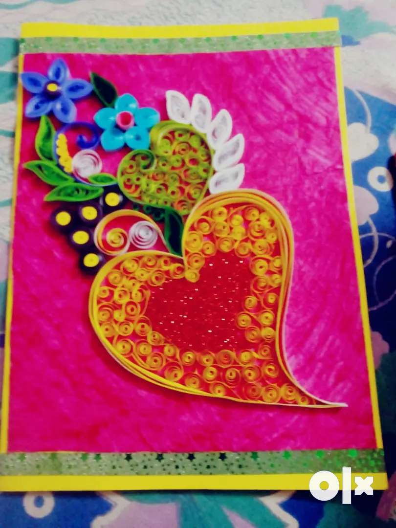 Hand made card for your love . 0