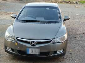 Honda civic hybrid model 2006 &  register  2015