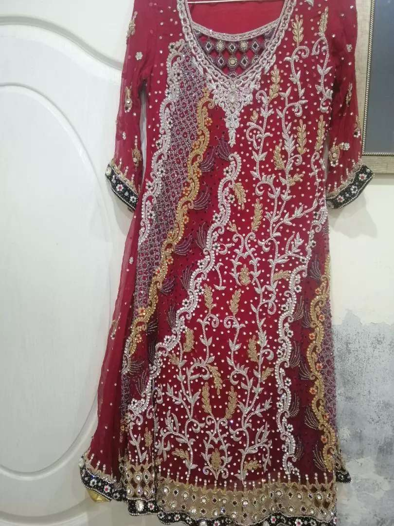 Bridal lehnga one time used 0