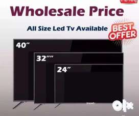 New box pack 32 inch normal full HD led TV Sony panel