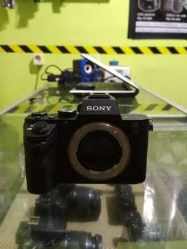 Kamera mirorles sony A7II body only normal siap pakai