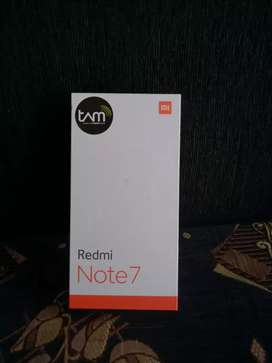Redmi Note 7 ram 4/64gb Tam{Bisa Cod/Tukar Tambah}