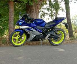 R15 v2 special edition with good condition engine.