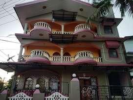 1 bhk flat for rent @ porvorim soccoro for 12000(negotiable)