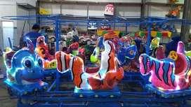 odong2 sepeda air fiber kereta mini panggung mini coaster NP