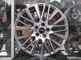 Velg Mobil Juke, Innova, Xpander dll R18 HSR Wheel AKITA Semi Grey
