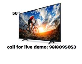 """50"""" smart Uhd Android led TV With Ultra Clean View"""