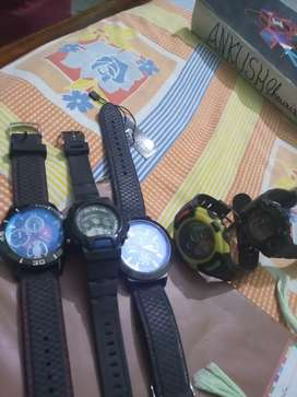 Sports watches.
