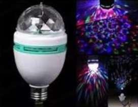 LED mini party light / Lampu disco mini + fitting