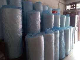 Bubble Wrap 1 Roll Putih 50m x 1.25m