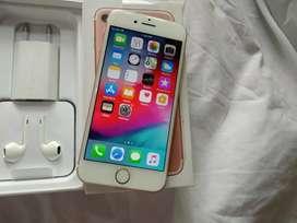 iPhone 7 ,128GB Rose Gold 100 % Genuine