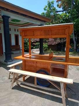 gerobak angkringan murah free ongkir cod 1197
