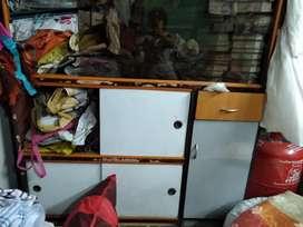 Show case 3 sliding doors 1 drawer very big