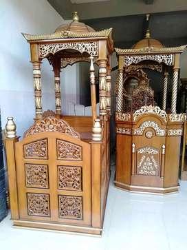mimbar masjid terkini baru