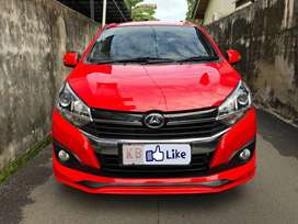 Daihatsu Ayla 1.2 R Manual 2018 Merah Solid