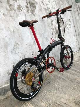 Sepeda Lipat Ecosmo 10 Filosofi Kopi