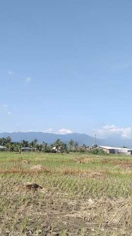 jual sebidang tanah luas 5380 m3