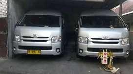 Sewa Rental Toyota Hiace, ELF, Innova reborn, Hyundai H1 Denpasar Bali