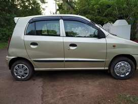 Well maintained 2002 model santro zip plus ,