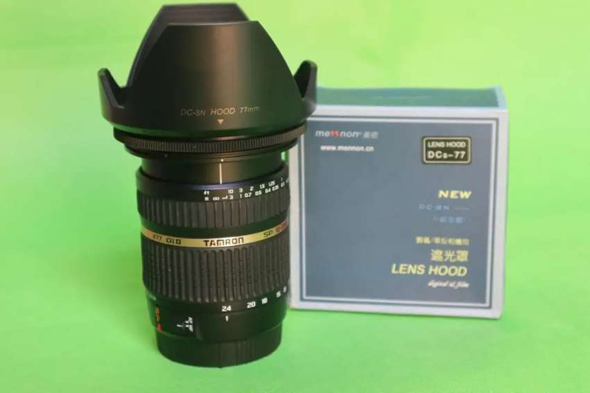 Lensa Wide Tamron SP 10-24mm F:3.5-4.5 DI II for Canon