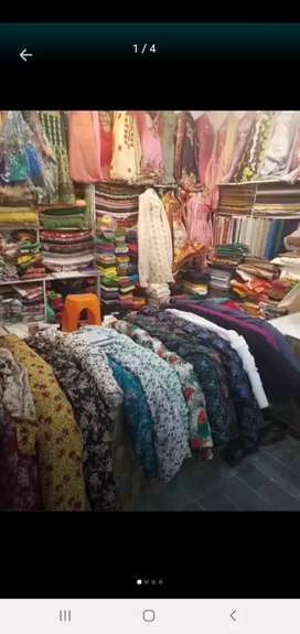 Garment and cloth shop price 900000