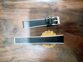 Original Lacoste Black n white leather colour 20 mm strap in 1500 only