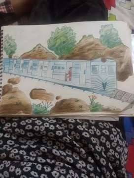 I am a drawing teacher. 1st to 8th and I can teach at home- gurdev me