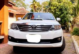 Fortuner 2 WD Automatic,2014 Model,Low Km
