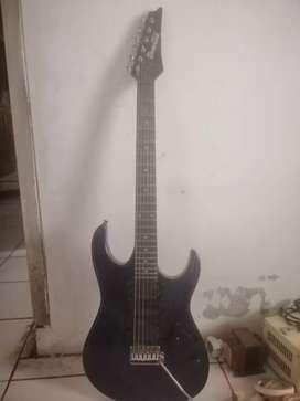 gitar ibanez gio biru metalik