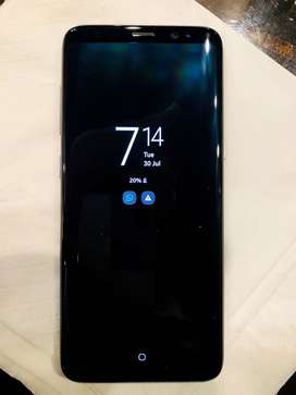 Galaxy S8 Dual Sim 64 GB - Orchid Grey Color - One handed Use