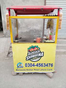 Burger shawarma and chips couter for sale