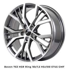 Velg Boven Ring 18 Mobil Altis New, Celica, Corona,Sienta Kredit 0%