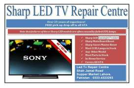 led tv sevice  repair    sony samsung lg tcl noel