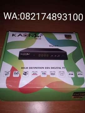Set Top Box Kaonsat DVB T2 DVB C IPTV