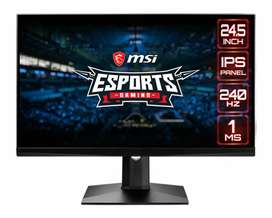 """Msi optix MAG251RX 24.5"""" full hd 240hz Monitor available"""
