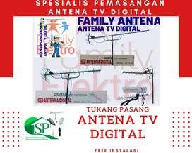 Pasang Baru Antena Tv Analog Terbaik Bogor Tengah