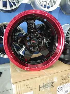Velg Racing Hsr wheel model Loud ring 16 untuk Avanza,  jazz,  yaris