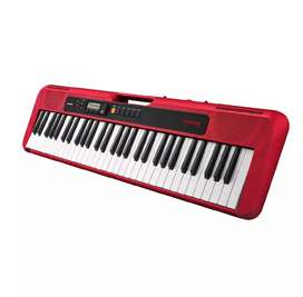 Casio CT-S200 Casiotone 61-Key Portable Keyboard (Red)